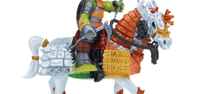 Playmates Toys Teenage Mutant Ninja Turtles Samurai Warrior Horses Official Images