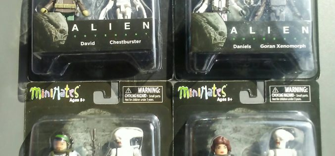 Diamond Select Toys Alien: Covenant Minimates Assortments In-Packaging