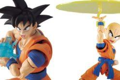 Bandai Tamashii Nations Dragon Ball Z Figure-rise Standard Goku & Krillin Figures