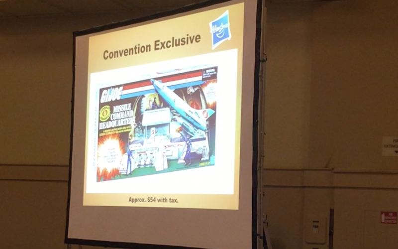 Hasbro G.I. JoeCon 2017 – Collectors' Club Roundtable Panel Video Coverage