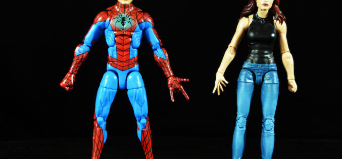 Hasbro Marvel Legends 6″ Spider-Man & Mary Jane 2-Pack Figures Review
