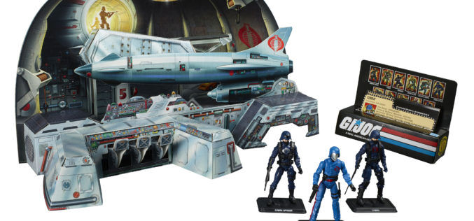 Hasbro SDCC 2017 Exclusive G.I. Joe Cobra Missile Command Headquarters