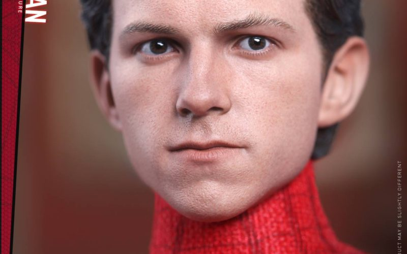 Hot Toys Reveals New Head Sculpt Of Spider-Man: Homecoming Sixth Scale Figure
