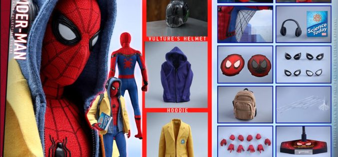 Hot Toys Spider-Man: Homecoming & Deluxe Version Sixth Scale Figure Pre-Orders