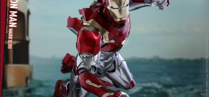Hot Toys Spider-Man: Homecoming Iron Man Mark XLVII Sixth Scale Figure