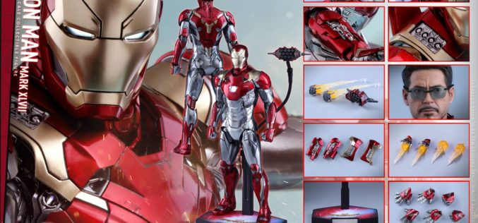 Hot Toys Spider-Man: Homecoming Iron Man Mark XLVII Sixth Scale Figure Pre-Order