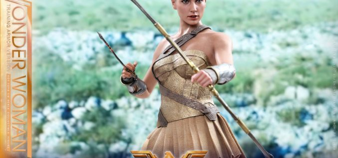 Hot Toys Wonder Woman In Training Armor Version Sixth Scale Figure