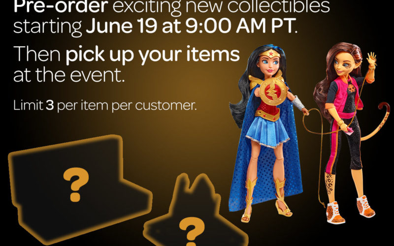 Mattel SDCC 2017 Exclusives Sale Begins Monday, June 19th On Mattel Shop