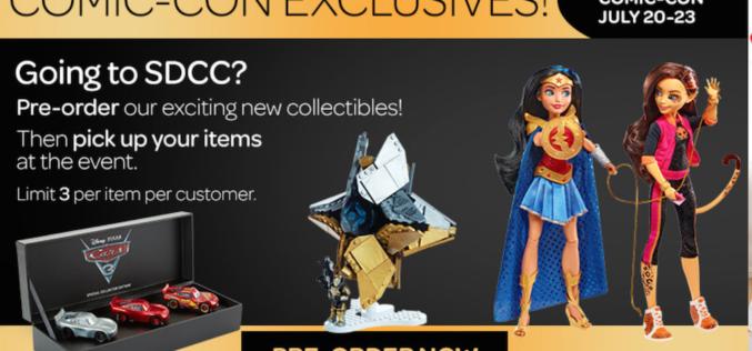 Mattel SDCC 2017 Exclusives Sale Begins Today On Mattel Shop
