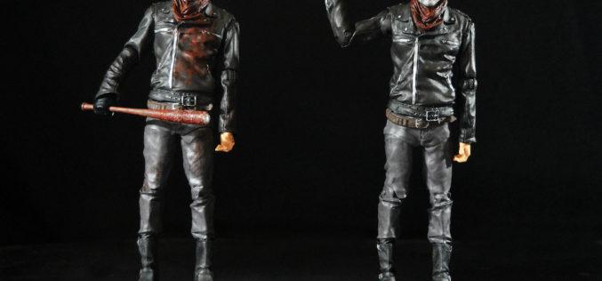 McFarlane Toys The Walking Dead Negan & Bloody Negan 7″ Figures Review