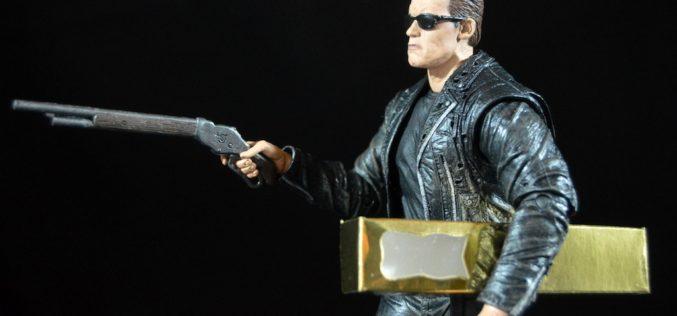 NECA Toys Terminator 2: Ultimate T-800 3D 7″ Figure Review