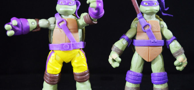 Playmates Toys Teenage Mutant Ninja Turtles Tech Donnie & Ninja Strike Donnie Figures Review