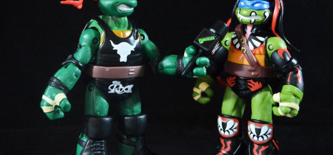 Playmates Toys Teenage Mutant Ninja Turtles WWE Raphael As The Rock 6″ Figure Review