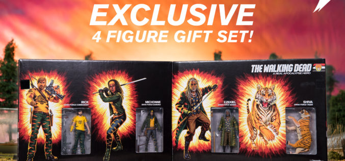 McFarlane Toys & Skybound SDCC 2017 Exclusive The Walking Dead – The Shiva Force Box Set
