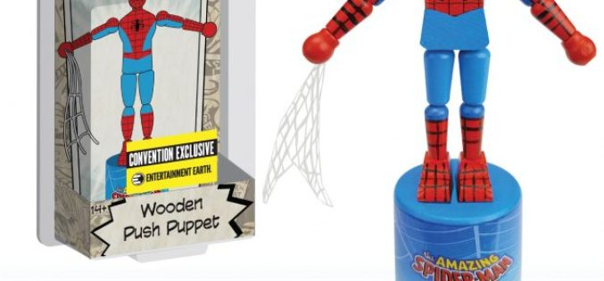 San Diego Comic-Con 2017 Exclusive Spider-Man Push Puppet
