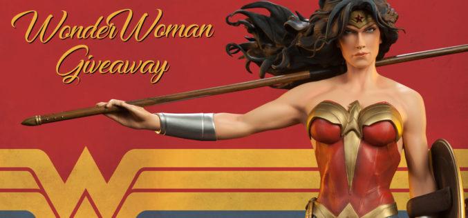 Sideshow Collectibles Wonder Woman Premium Format Figure Giveaway Contest Ending Soon