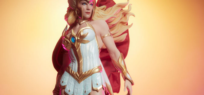 Sideshow Collectibles Masters Of The Universe She-Ra Statue