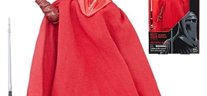 GameStop Restocks Hasbro Star Wars The Black Series 6″ Emperor's Royal Guard Figure