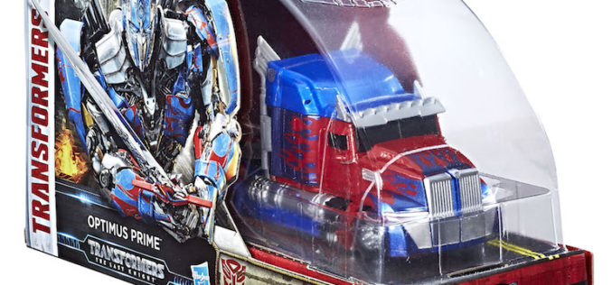 Hasbro Reveals Transformers: The Last Knight SDCC 2017 Exclusive