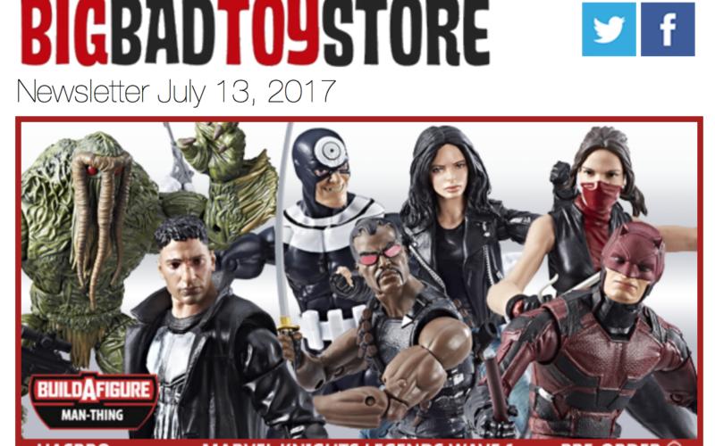 BigBadToyStore: Marvel Legends, Pokemon, SDCC, Takara Transformers, Street Fighter, Overwatch & More