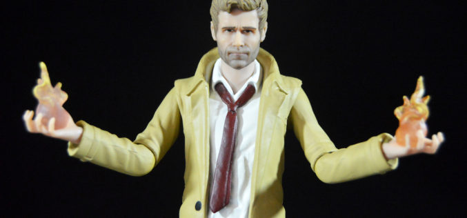 DC Collectibles 7″ DCTV  Arrow TV Series – Constantine Figure Review