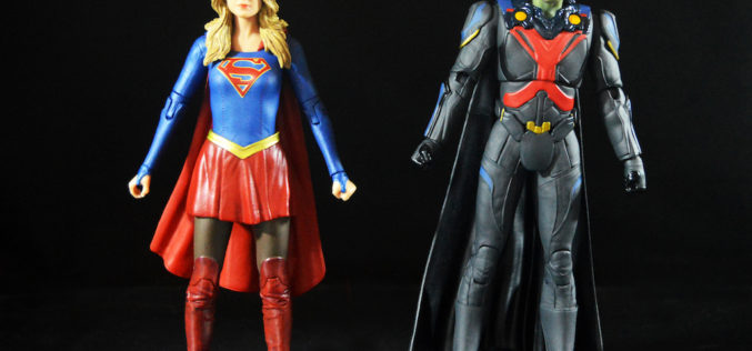 DC Collectibles 7″ DCTV Supergirl TV Series – Supergirl & Martian Manhunter Figures Review