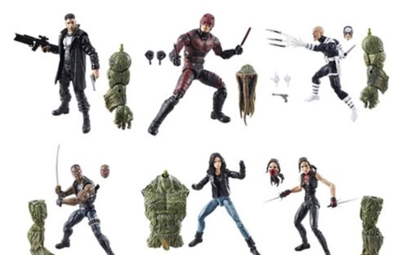 Entertainment Earth Begins Shipping Marvel Legends 6″ Marvel Knights Wave 1 Pre-Orders