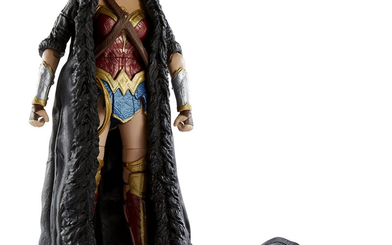 Amazon Prime 20% Off Deal On Mattel DC Multiverse Wonder Woman Movie Caped Figure