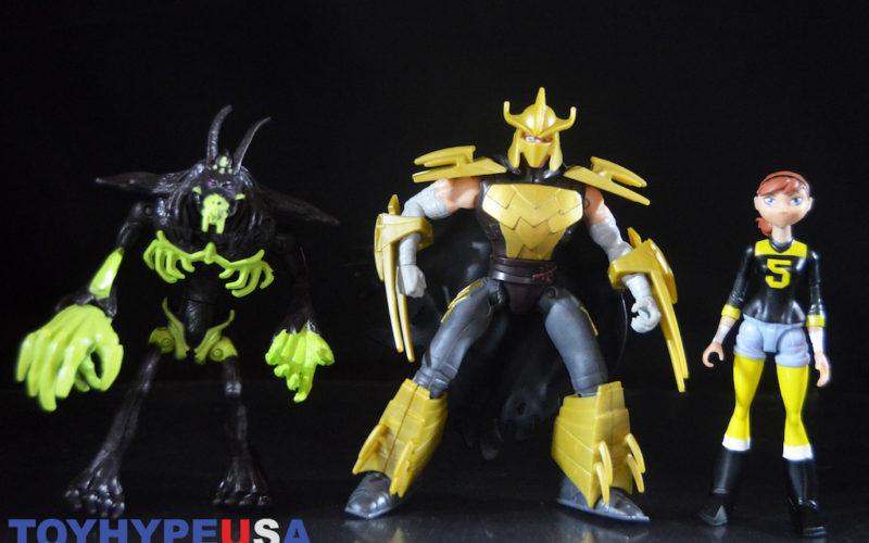 Playmates Toys Teenage Mutant Ninja Turtles Brutal Shredder, Mystic April O'Neil & Savage Rahzar Figures Review