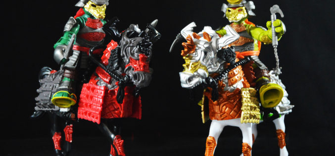 Playmates Toys Teenage Mutant Ninja Turtles Samurai Warrior Horse With Raph & Mikey Figures Review