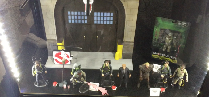 SDCC 2017 – Diamond Select Toys Booth Video Coverage – Ghostbusters, Marvel, NBX & More