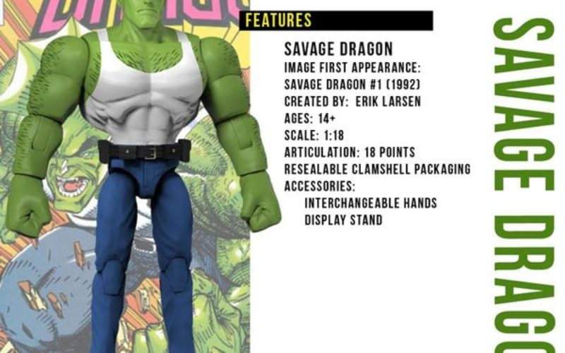 Savage Dragon 4″ Figures Coming From Zica Toys