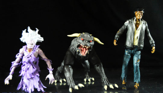 Diamond Select Toys Ghostbusters Select Series 5 – Terror Dog, Library & Taxi Cab Ghost Figures Review & Giveaway