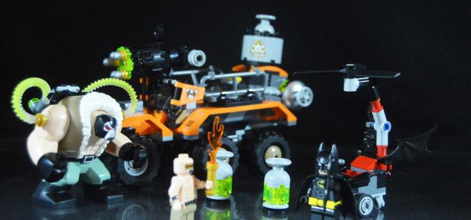 LEGO Batman Movie 70914 Bane Toxic Truck Attack Review