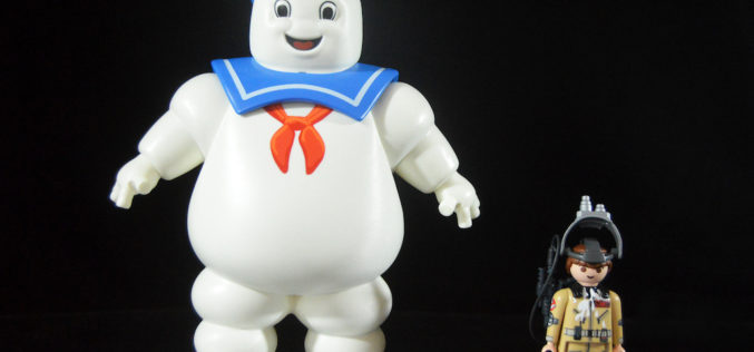 Playmobil Ghostbusters Stay Puft Marshmallow Man & Ray Stantz Figures Review