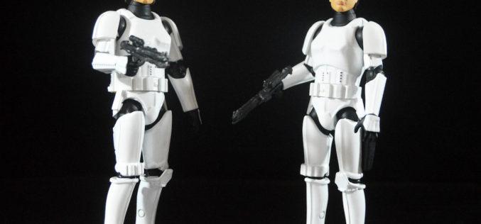 Star Wars 40th Anniversary Han Solo And Luke Skywalker In Stormtrooper Disguise Die-Cast Figures Review