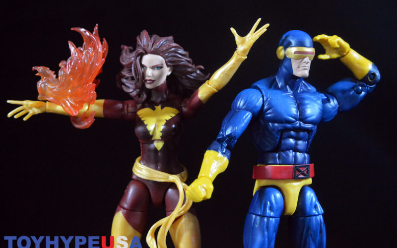 Hasbro X-Men Marvel Legends 6″ Dark Phoenix & Cyclops 2-Pack Review