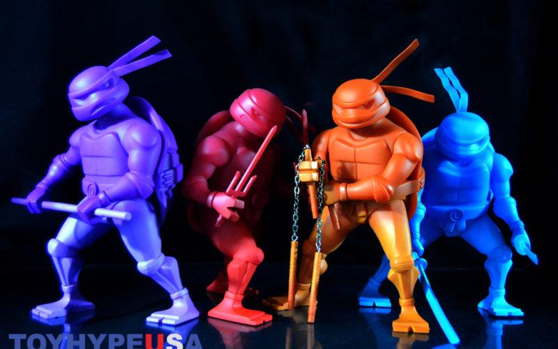 Kidrobot Teenage Mutant Ninja Turtles 8″ Medium Vinyl Figures Review