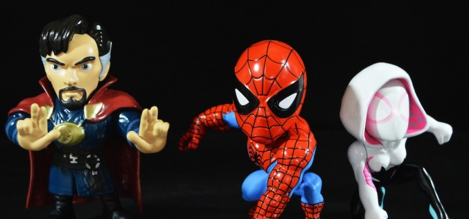 Jada Toys Spider-Man & Doctor Strange Metals Die Cast Figures Review