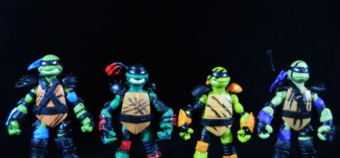 Playmates Toys Teenage Mutant Ninja Turtles Super Ninja Turtles Figures Review
