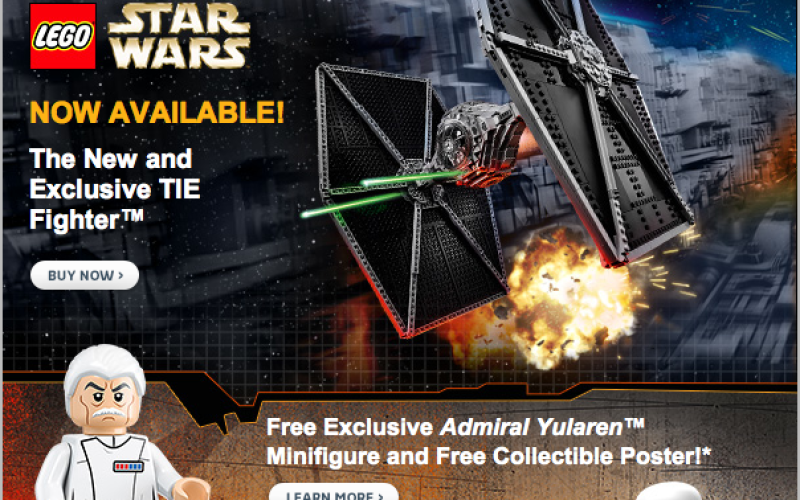 LEGO Shop Launches May The 4th LEGO Star Wars Sale - Toy Hype USA
