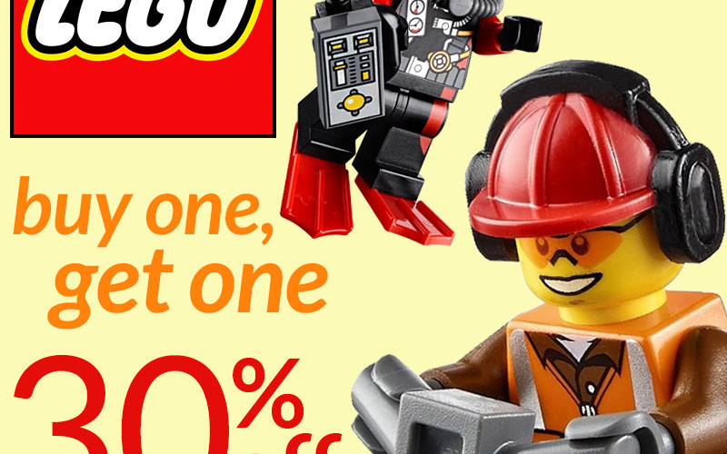 Entertainment Earth Offers BOGO Sale On In Stock Lego Products ...