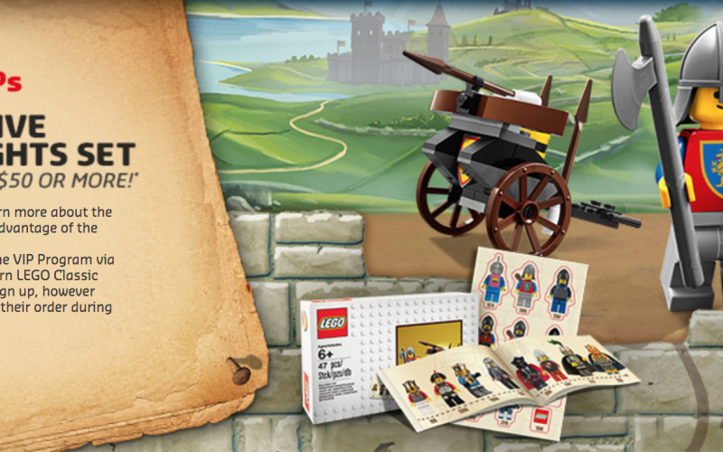 LEGO Shop Offers Free Retro LEGO Knights Set With Purchase - Toy ...