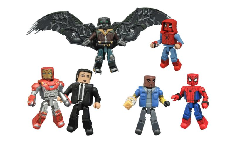 Spider-Man: Homecoming Marvel Minimates New Figure Images - Toy Hype USA