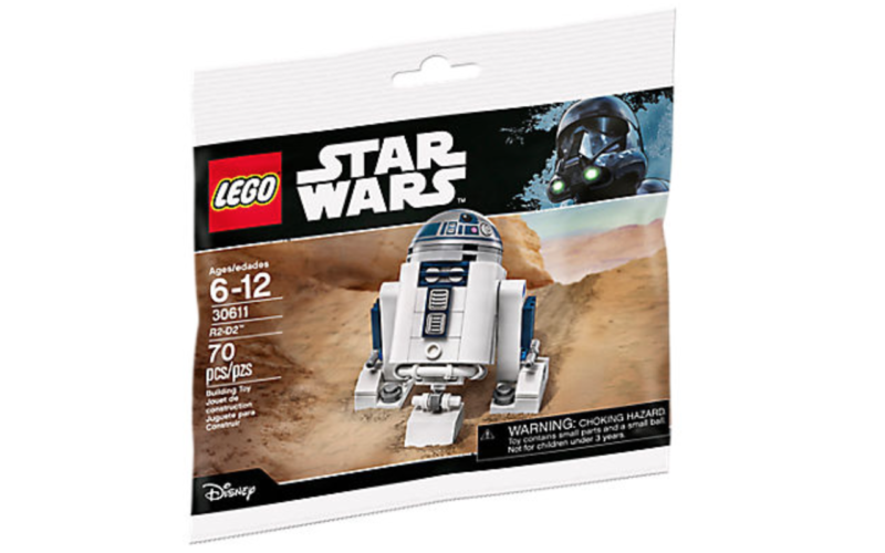 LEGO Shop Exclusive Star Wars R2-D2 Minifigure Free With $50 ...