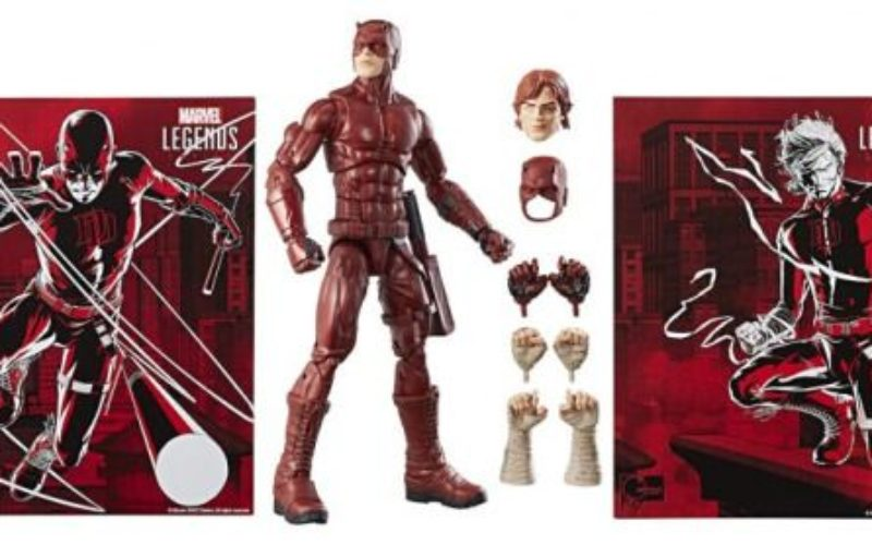 Hasbro San Diego Comic Con 2017 Marvel Legends 12 Daredevil Exclusive
