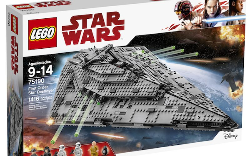 LEGO Star Wars The Last Jedi Construction Sets Available Now - Toy ...